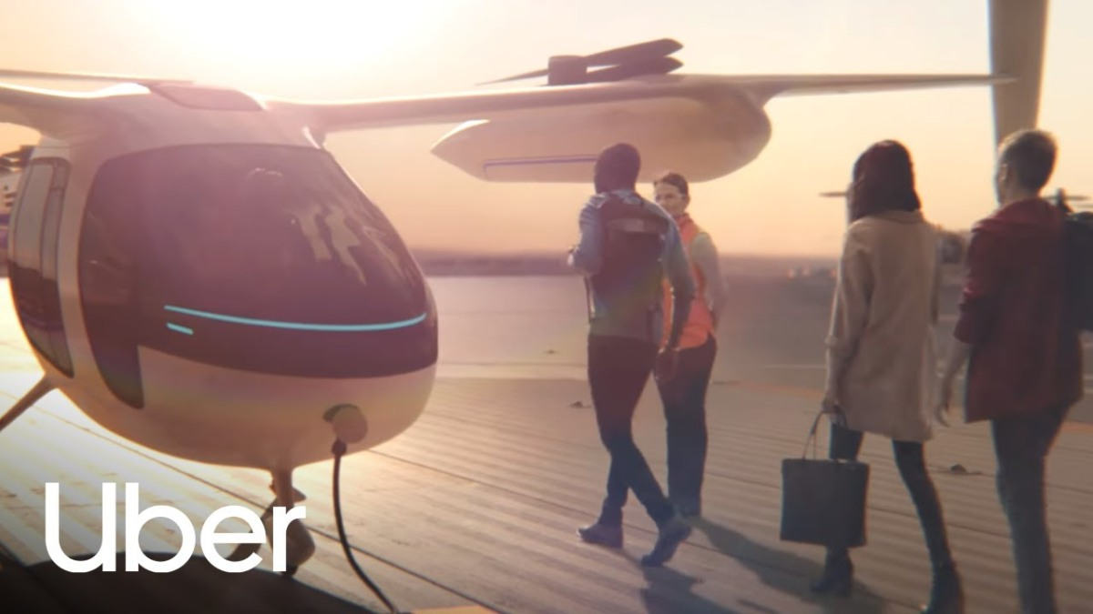 This is Uber's vision for airtravel