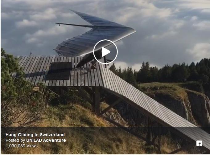Hang Gliding InSwitzerland