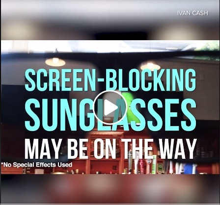Block out ads with thesesunglasses